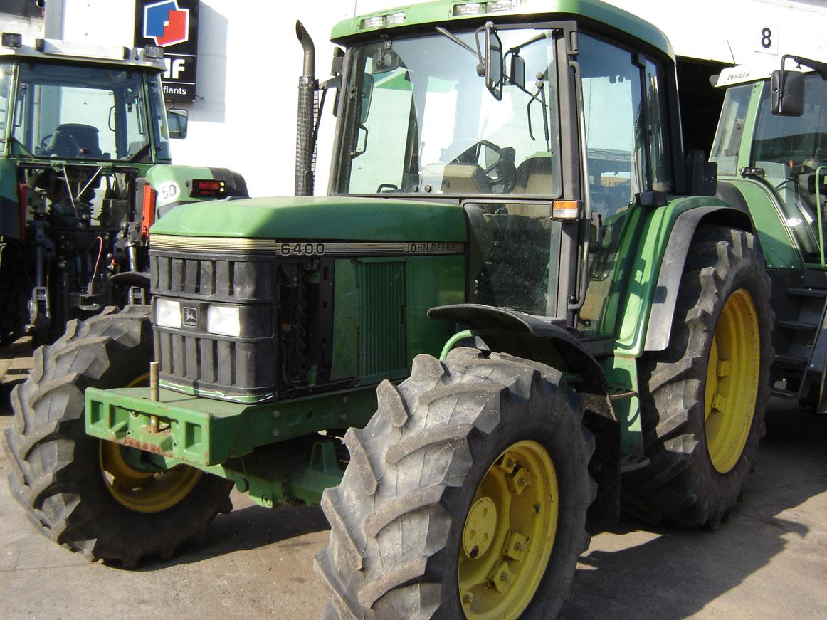 Tracteurs (59kW ->80kW) 80ch -> 119ch John Deere 6400