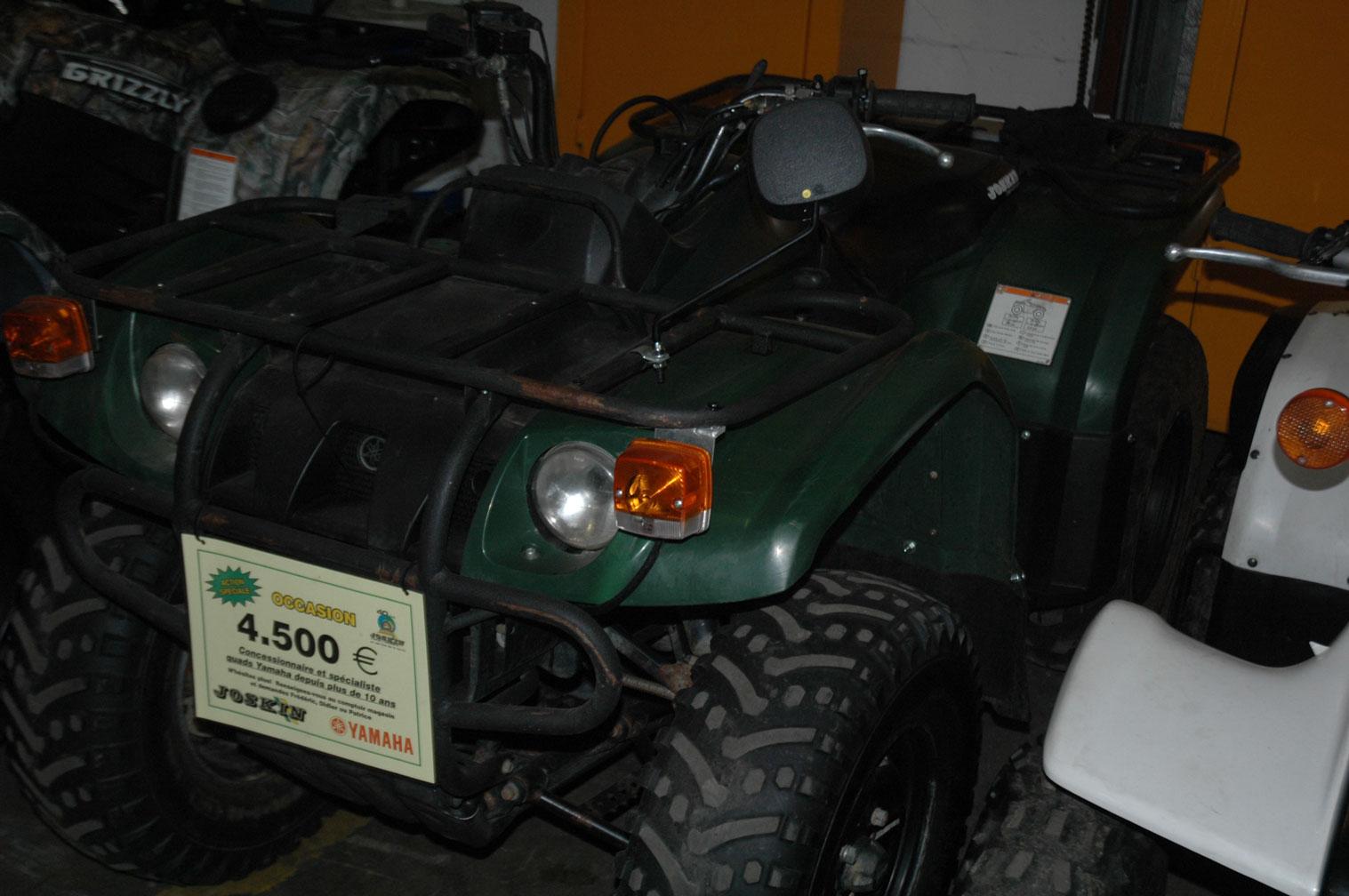 Quads utilitaires Yamaha 400 Kodiak