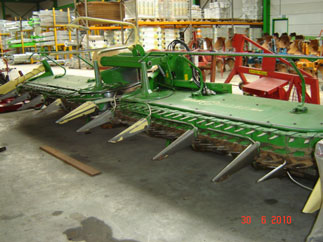 Accessories for forage harvesters Krone EasyCollect 7500