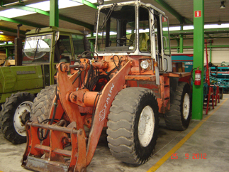 Wheel loaders O & K F1110
