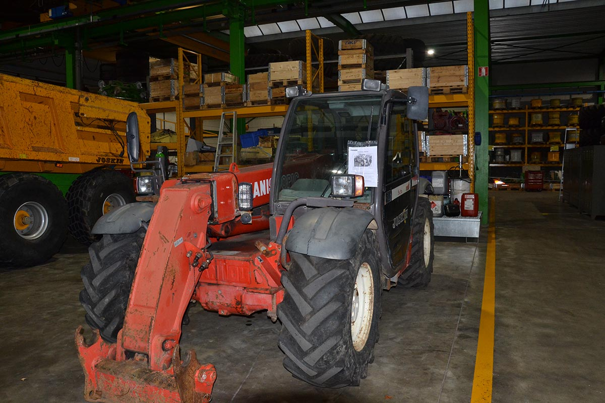 Telescopic handlers Manitou 526 MLT Compact