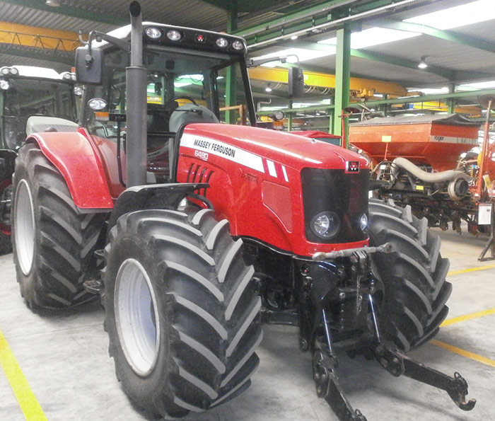 Tractors (89kW and more) from 120hp Massey Ferguson 6480 Dyna 6