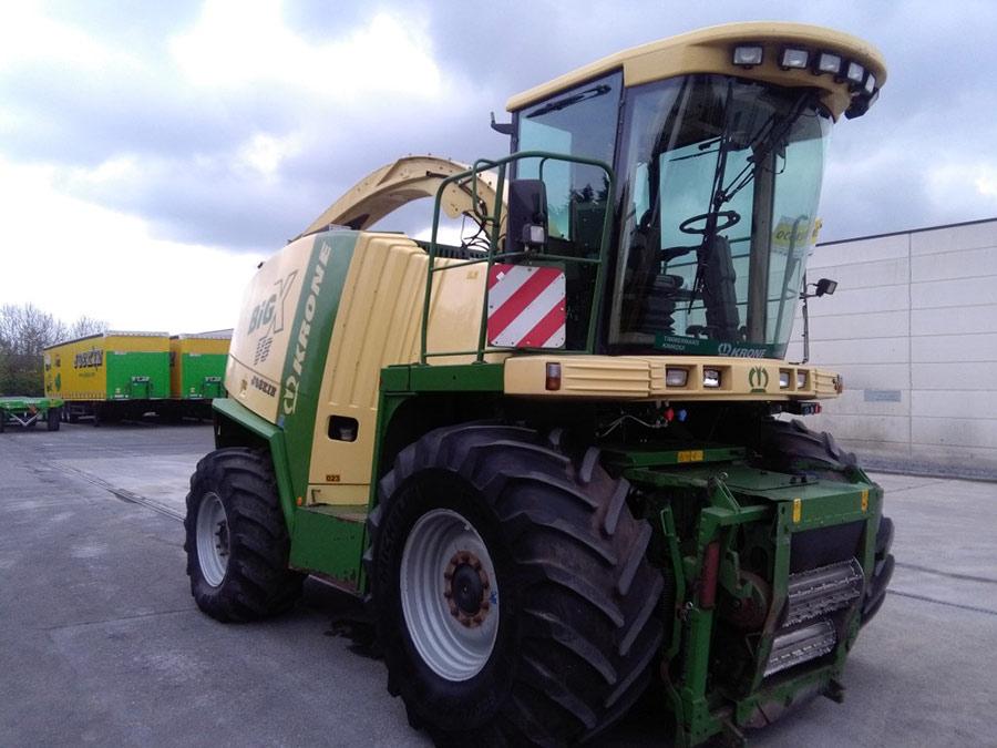 Forage harvesters Krone Big X 600