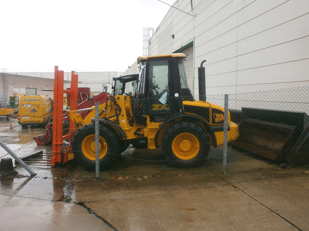 Wheel loaders JCB 411