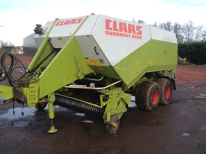 Pressen Claas 2200