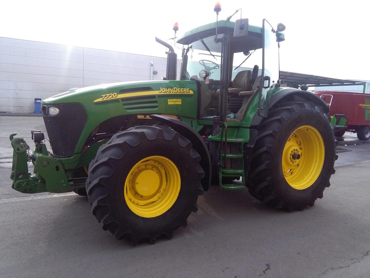 Tracteurs (89kW et plus) 120ch et plus John Deere 7720