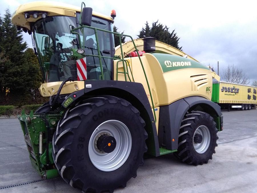 Forage harvesters Krone Big X 580
