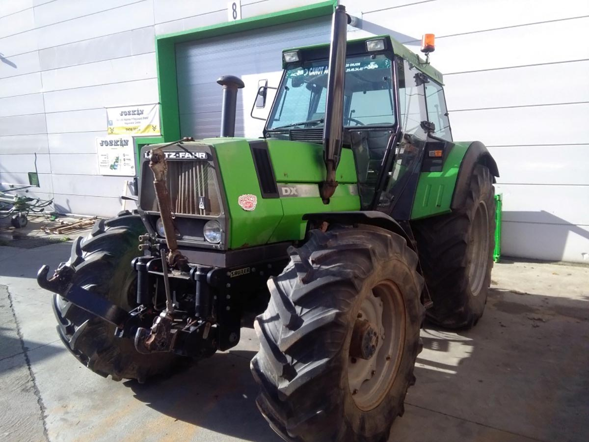 Tractors (89kW and more) from 120hp Deutz DX 6.50