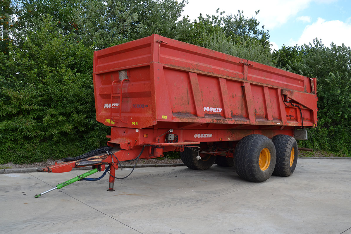 Joskin Tipping trailers Trans-SPACE 18T