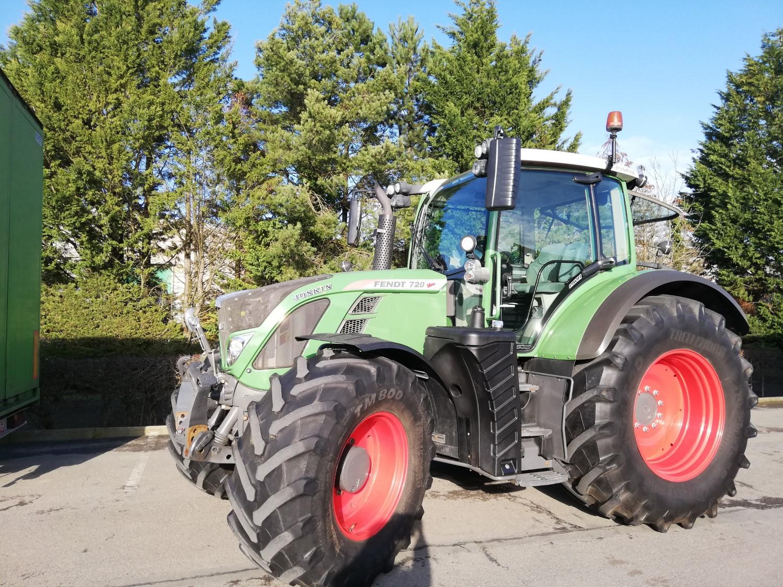 Tracteurs (89kW et plus) 120ch et plus Fendt 720