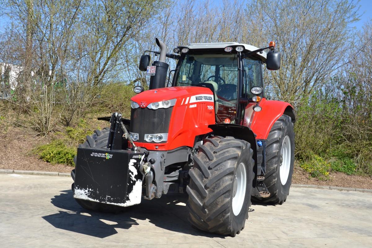 Tracteurs (89kW et plus) 120ch et plus Massey Ferguson 7624 Dyna-6 exclusive
