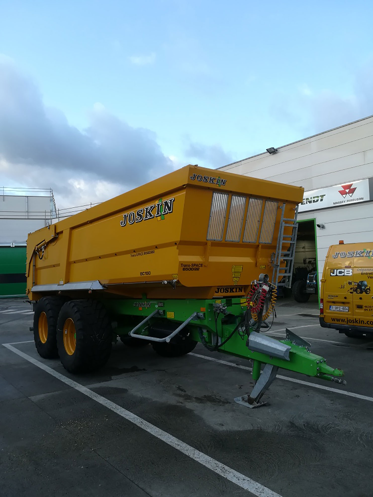 Joskin Tipping trailers Trans-SPACE 6,50m