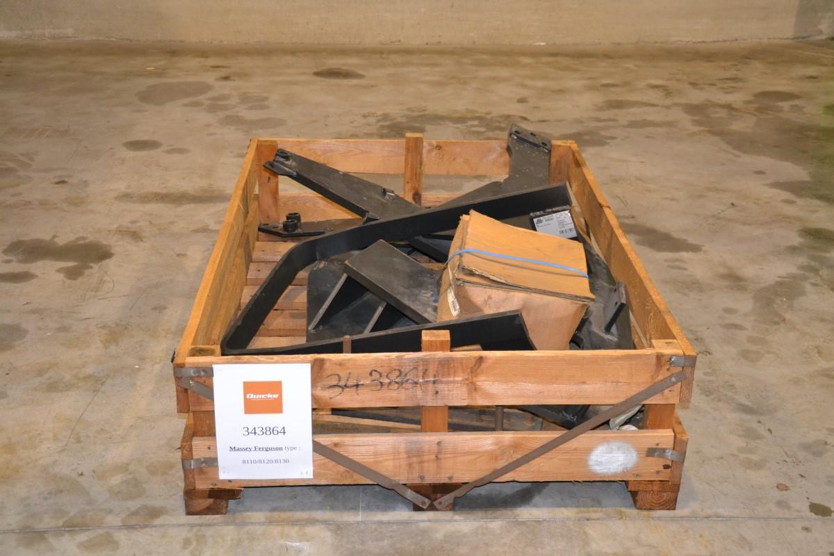 Frontladers Alö-Quicke Pour Massey Ferguson 8110/8120