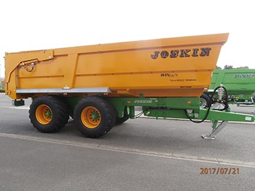 Joskin Tipping trailers Trans-SPACE 7,00m
