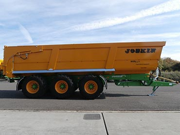 Joskin Tipping trailers Trans-SPACE 8,00m