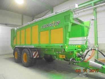 Joskin Multi-purpose trailer Drakkar lg 7600mm