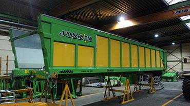 Joskin Multi-purpose trailer Drakkar-Cargo lg 11600mm