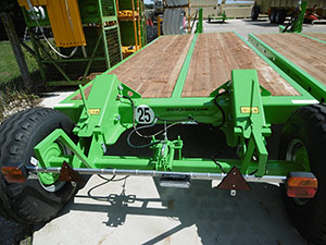 Joskin Bale trailers JOSKIN Low loader 6,0M