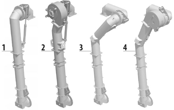 Articulated filling arm