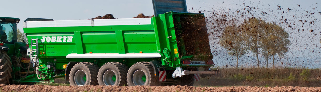 Muck Spreaders Management And Monitoring Joskin
