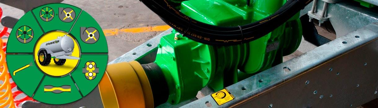 slurry spreader - Pumping system - JOSKIN