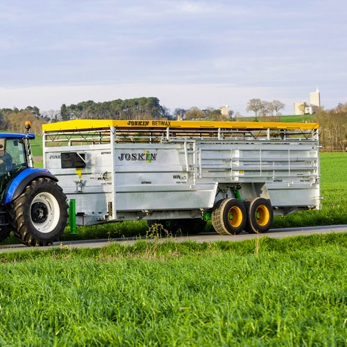 A safe and comfortable transport of your cattle