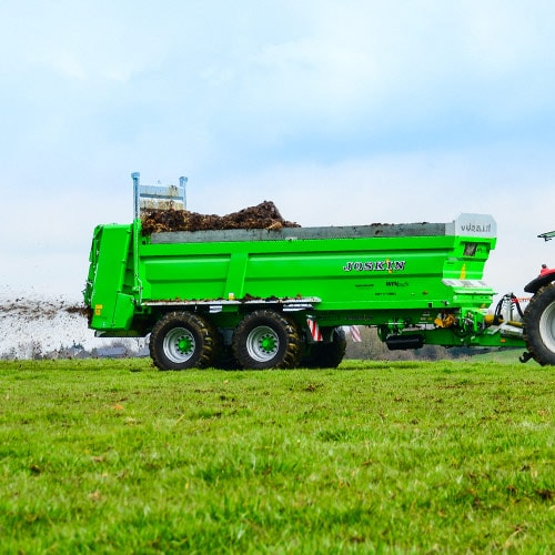 High capacity universal muck spreader