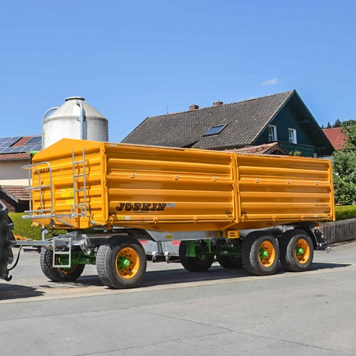 The rolling and manoeuvrable tipping trailer par excellence!