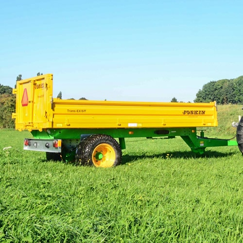 Multi-functional, Strong and Compact tipping trailer