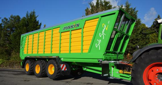 Silo-Space 2 the new generation of JOSKIN silage trailers - Available soon