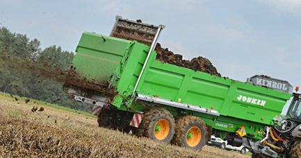 New Range of Muck Spreaders - Ferti-SPACE HORIZON