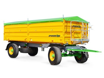 Tipping trailers with drop sides tetra-cap