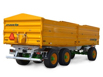 Dropside tipping trailers tetra-space