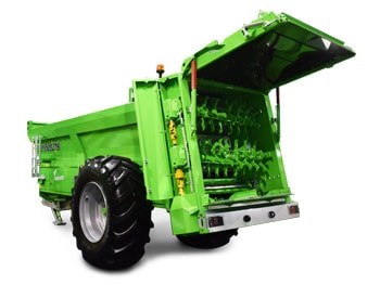 Muck spreader with <b>horizontal beaters</b> tornado3 horizon