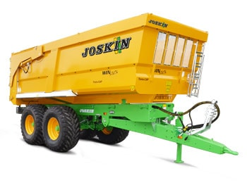 Agricultural tipping trailers trans-cap