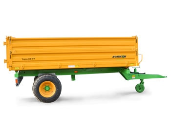 Dropside tipping trailers trans-ex