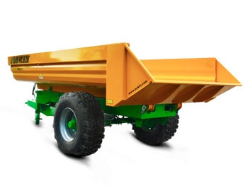 Agricultural tipping trailers trans-palm
