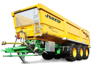 Agricultural tipping trailers trans-space
