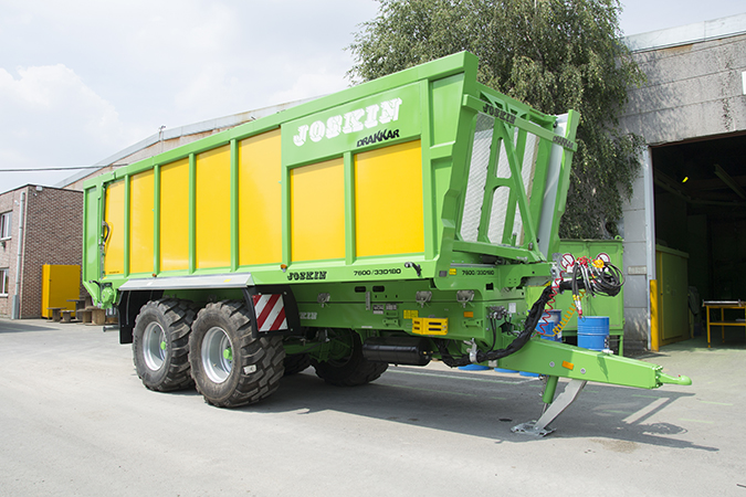 Joskin Multi-purpose trailer Drakkar Boggie 33 m3 lg 8000mm