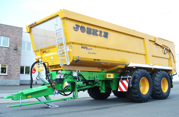 Joskin Kipper Trans-SPACE 7,50m