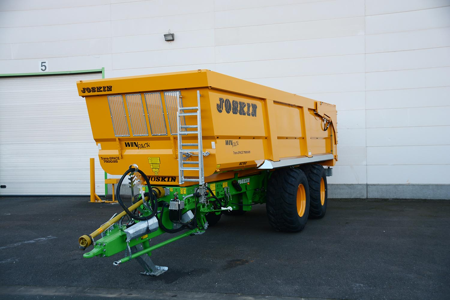 Joskin Tipping trailers Trans-SPACE 7,50m